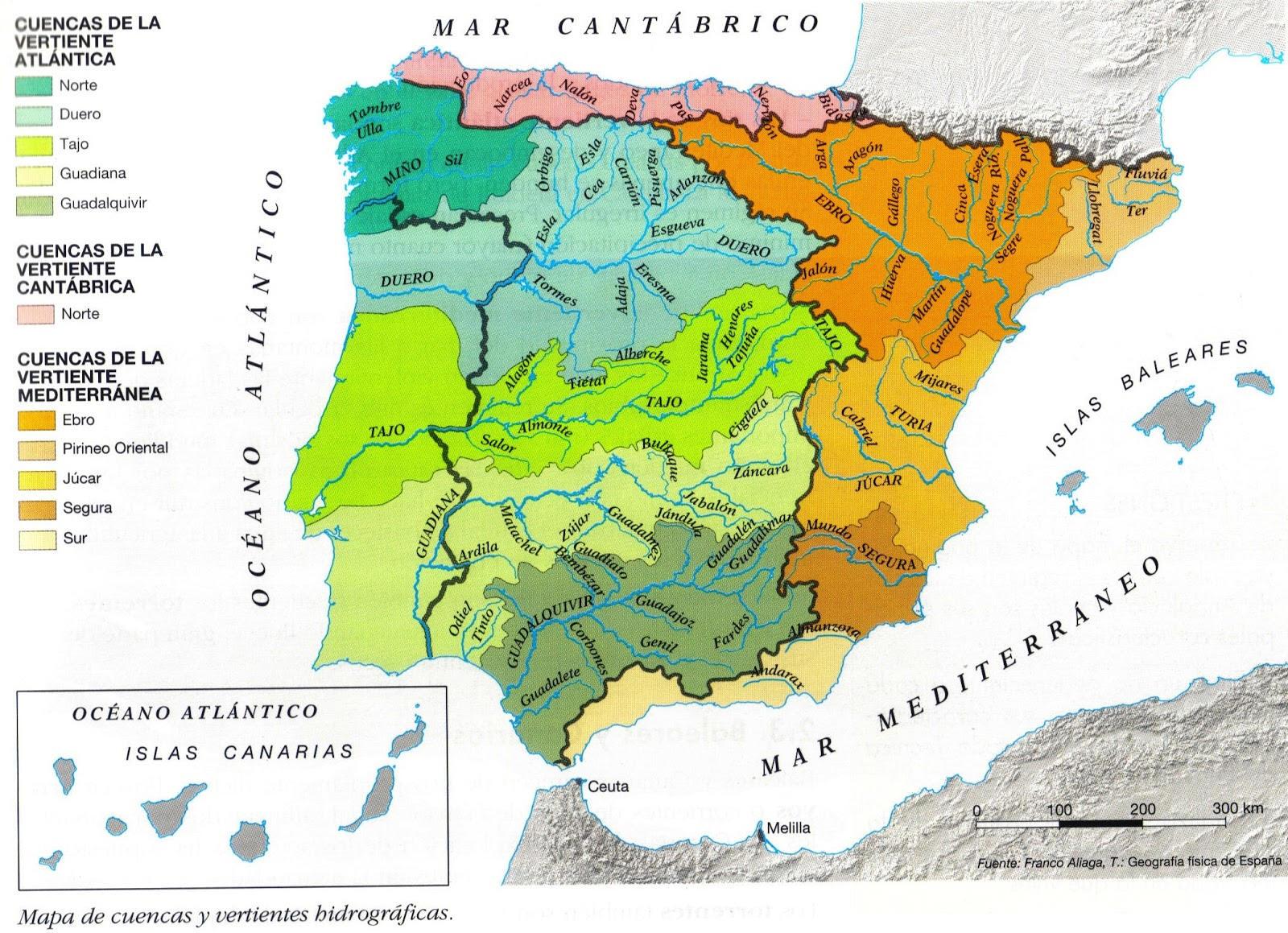 La Red Fluvial En La Península I